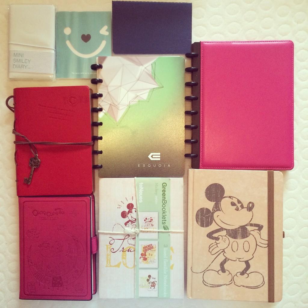 KonMari Method. Notebooks. Decluttering.