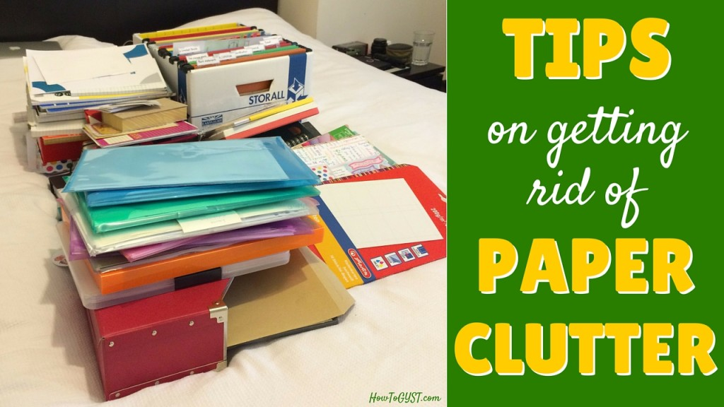 Paper clutter how to get rid of it for good howtogyst for How to get rid of clutter