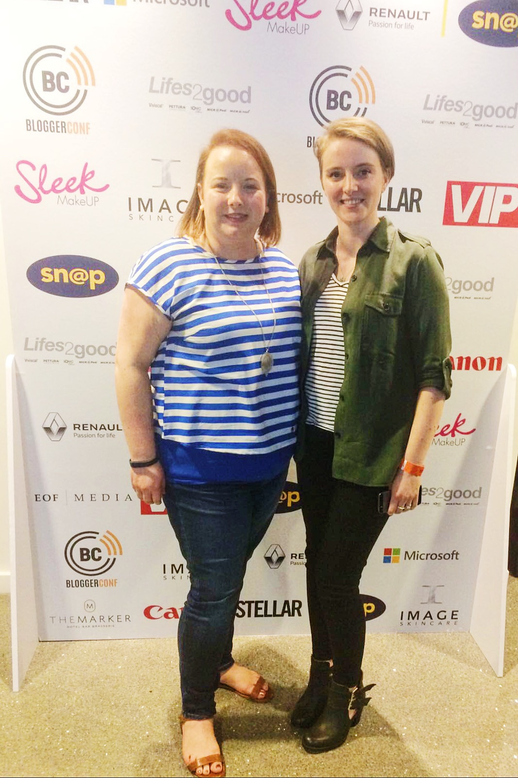 Bláithín & I at BloggerConf 2016