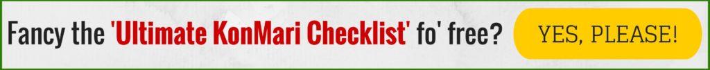 KonMari Checklist banner