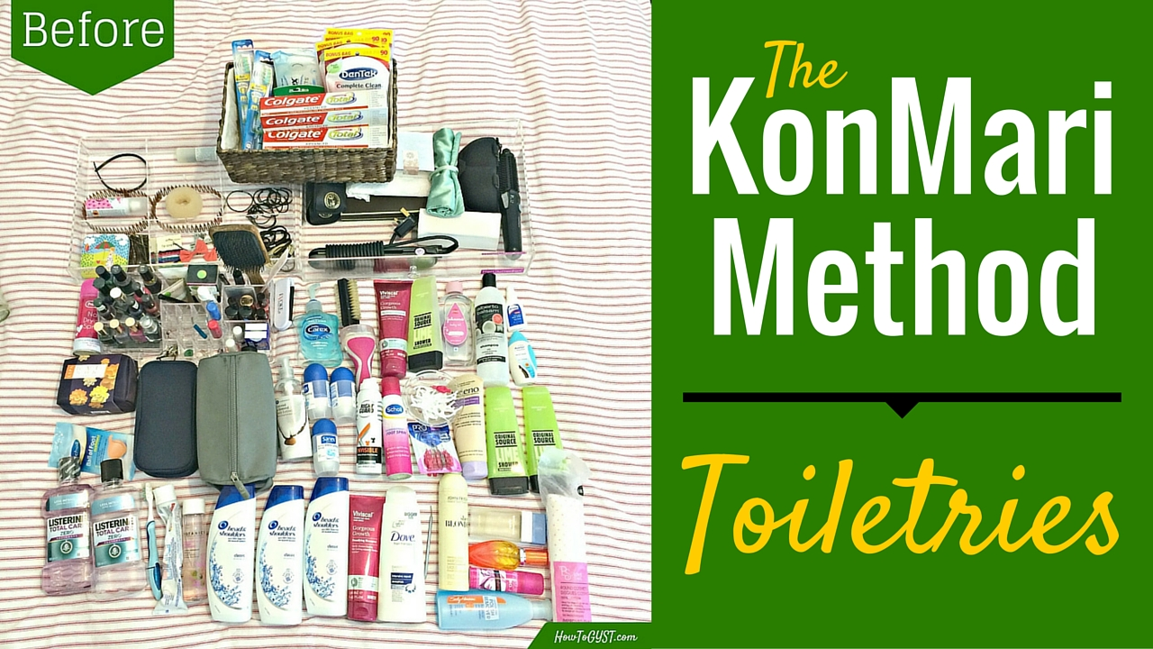KonMari toiletries