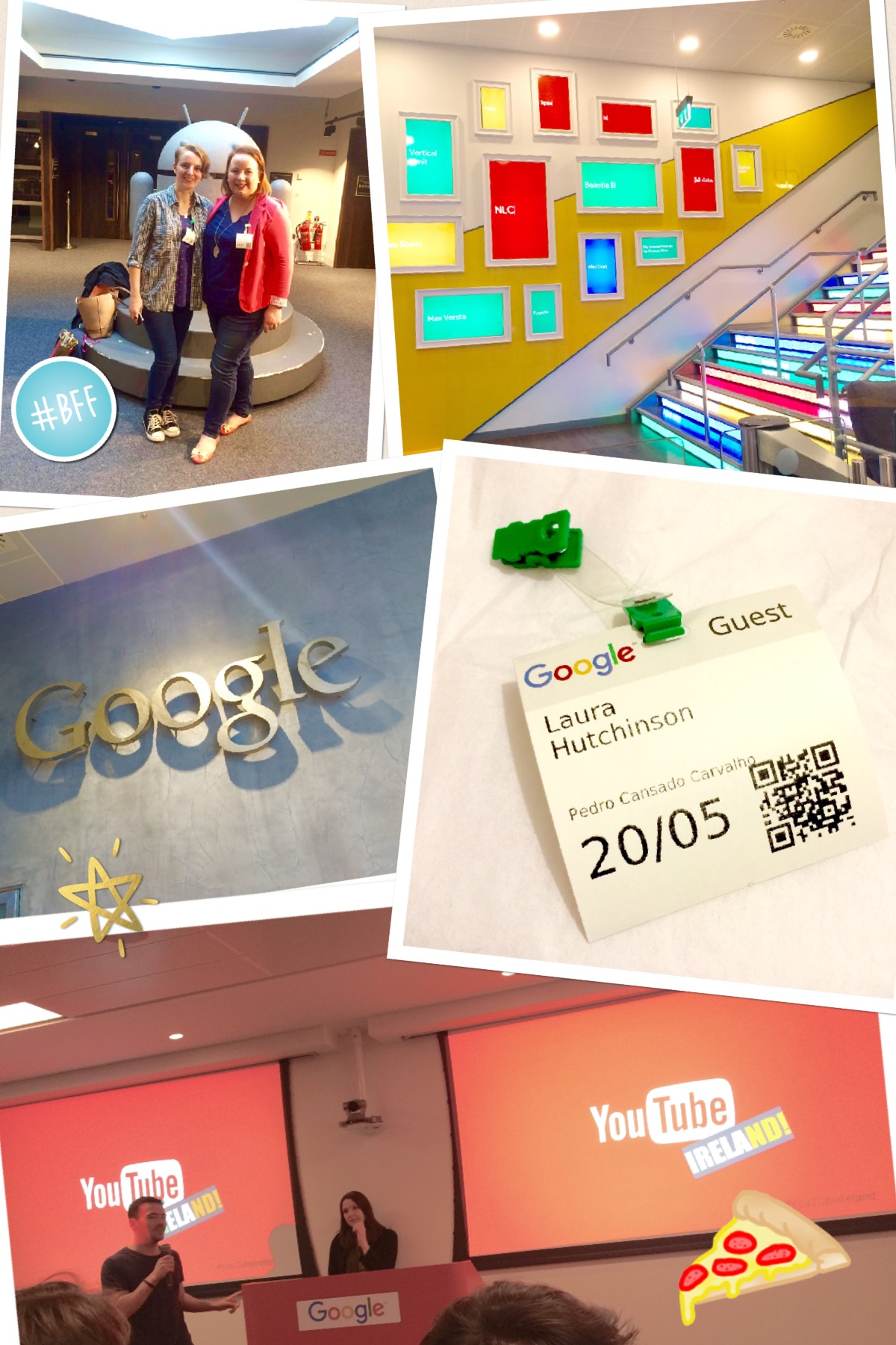 YouTube's Irisj Strategy Day in Google HQ, Dublin (May 20th, 2016)