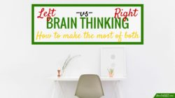 Left brain vs. right brain: how to make the most of both your analytical and creative sides.