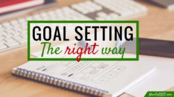 Goal setting can be tricky. After all, how many times have your worked your arse off to get something, only to be disappointed when you finally did?