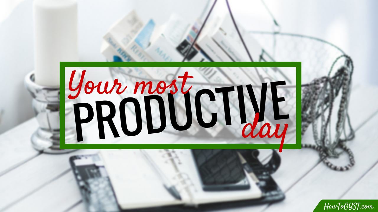 Planning your most productive day: a step-by-step guide