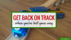 How to get back on track in 4 simple steps. Find out what they are to find motivation again here: howtogyst.com/get-back-on-track