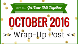 HowToGYST October 2016 wrap-up post