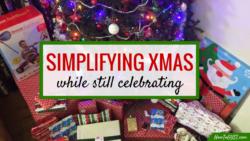 Minimalist Christmas | Simplifying Xmas | Minimalism | Simplify