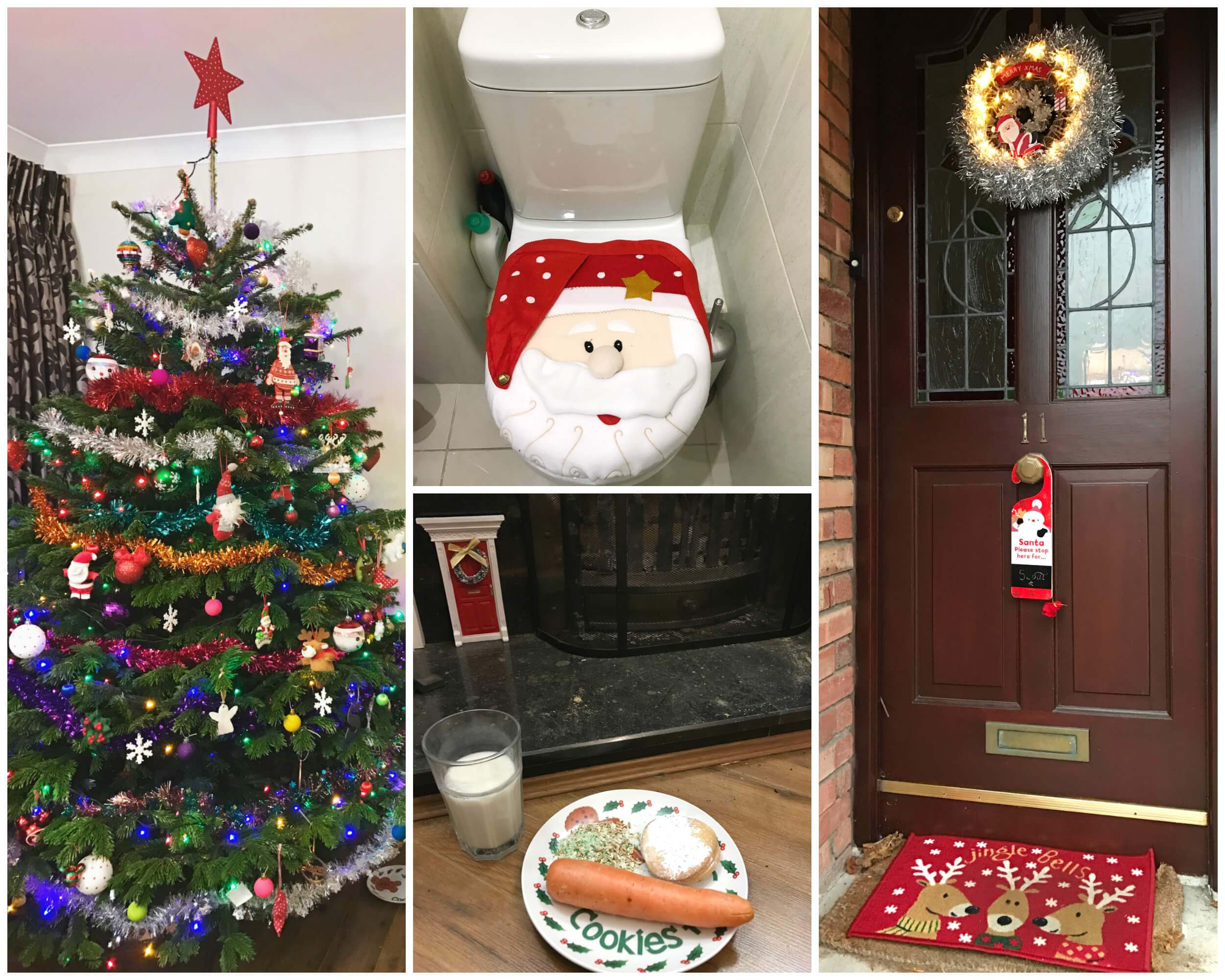 December 2016 Christmas decorations
