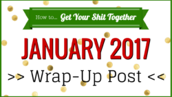 January 2017 wrap-up post | HowToGYST.com