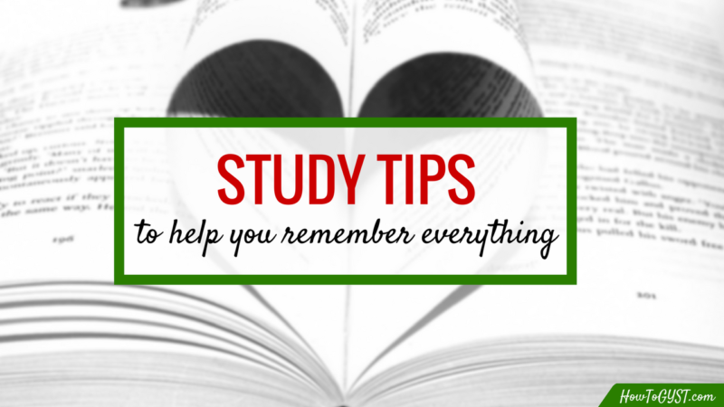 How to study effectively -- 6 step technique to improve your memory and help you recall information | Study tips | Study habits | Learn | Learning