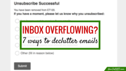 Declutter Your Email Inbox with these 7 tips for effective email management | Inbox zero | Gmail | Outlook | Yahoo | Hotmail