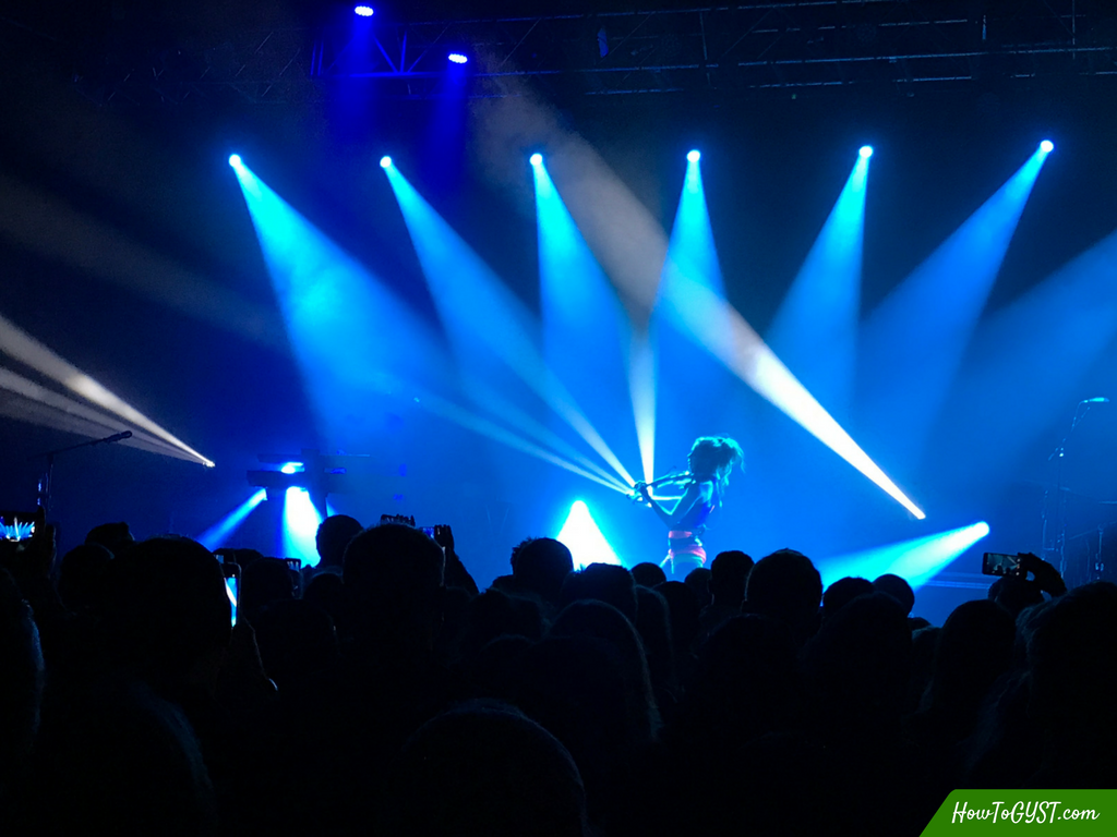 The best things I spent money on in 2017 – Lindsey Stirling concert, Vicar Street, Dublin, Ireland, April 2017