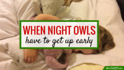When a night owl needs to get an early start   not an early bird? Here are some tips to help your morning go a lot smoother