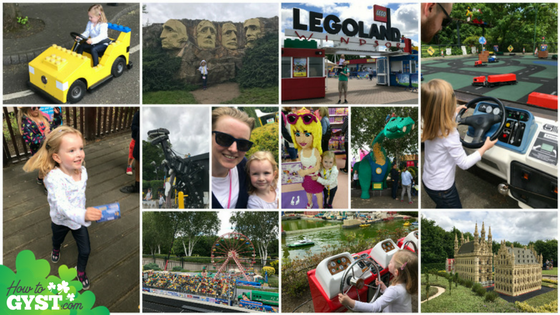 June 2017 wrap-up post from HowToGYST.com | Legoland, London, UK