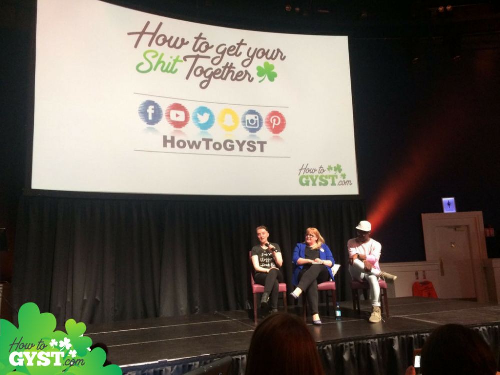 May 2017 BloggerConf Blogger Panel on Stage