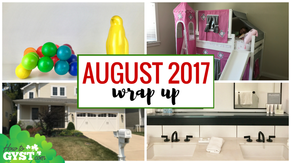 August 2017 Wrap Up post header