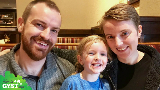 Family Photo at Carrabba's – September 2017
