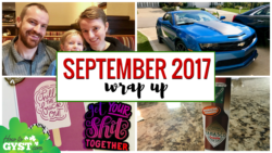 HowToGYST.com September 2017 Wrap-Up post