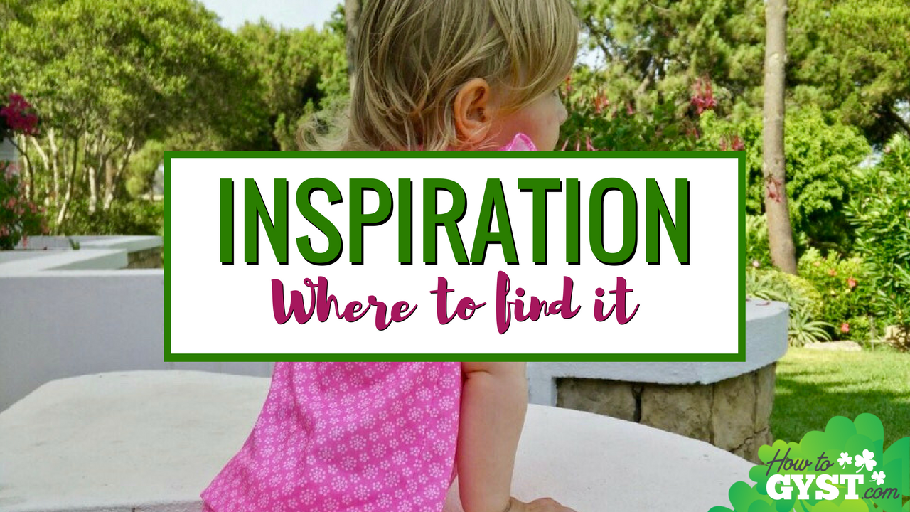 How To Get Inspired – Where To Find Motivation When You Need It | Feeling uninspired? 6 great sources of inspiration