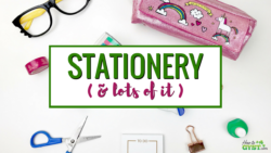 The Ultimate Gift Guide for Stationery Lovers | Looking for gift ideas for the stationery addict in your life? Try these top picks | Planner addict | Planner nerd | planners