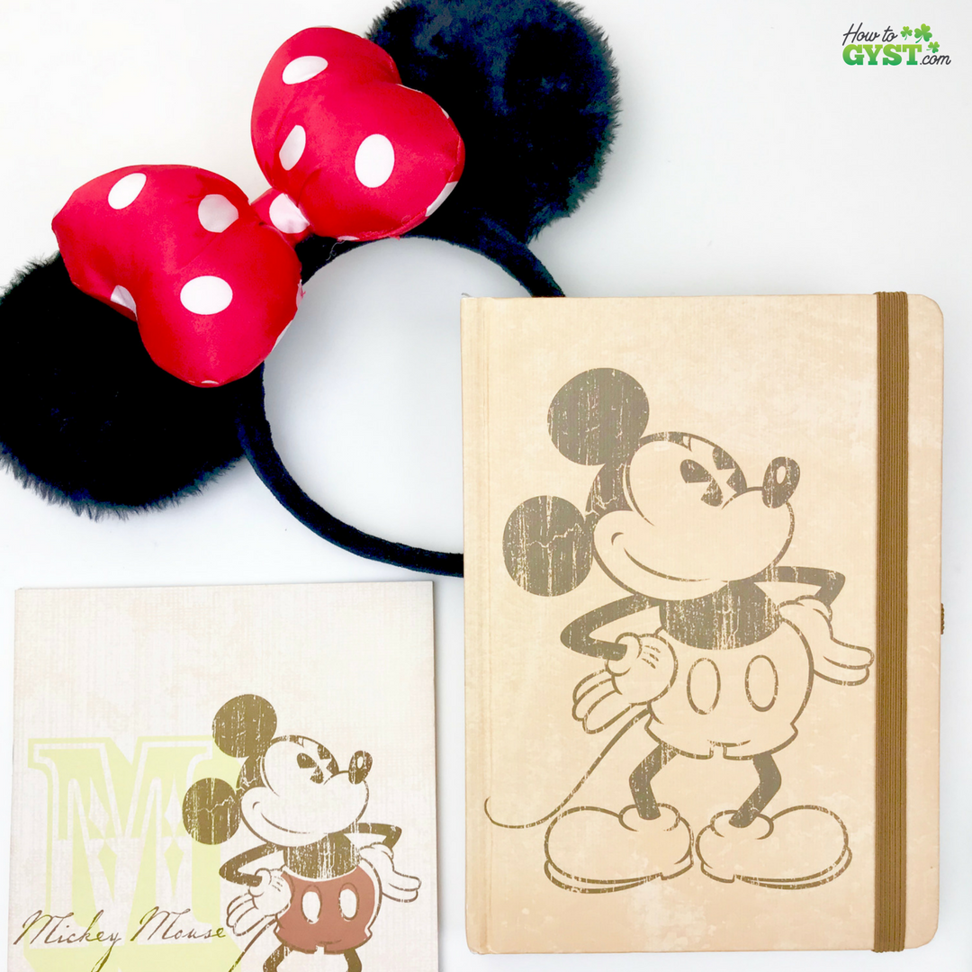 The Ultimate Gift Guide for Stationery Lovers | Looking for gift ideas for the stationery addict in your life? Try notebooks | Mickey Mouse notebooks | Disney notebooks | Minnie Mouse ears | Stationery addict