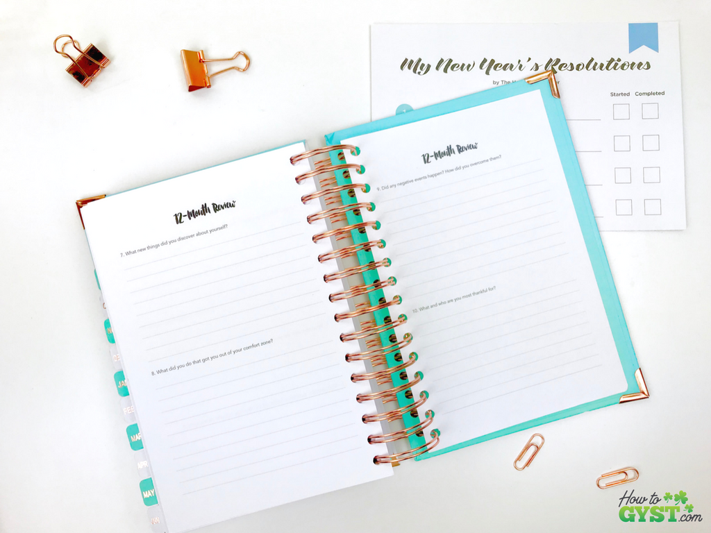 The Ultimate Gift Guide for Stationery Lovers | Looking for gift ideas for the stationery addict in your life? Try a planner | The Happiness Planner, 18 month exercise, annual review | Stationery addict | Planner addict | Planner nerd | planners