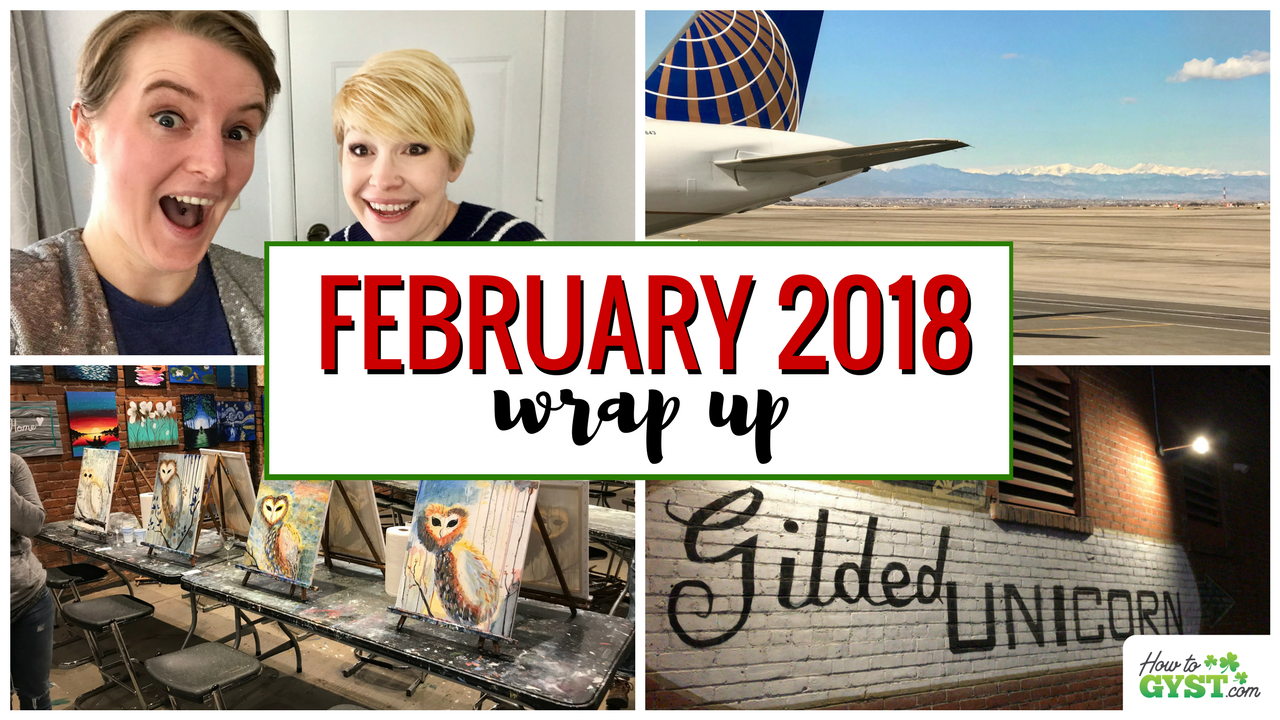 February 2018 wrap up post for HowToGYST.com