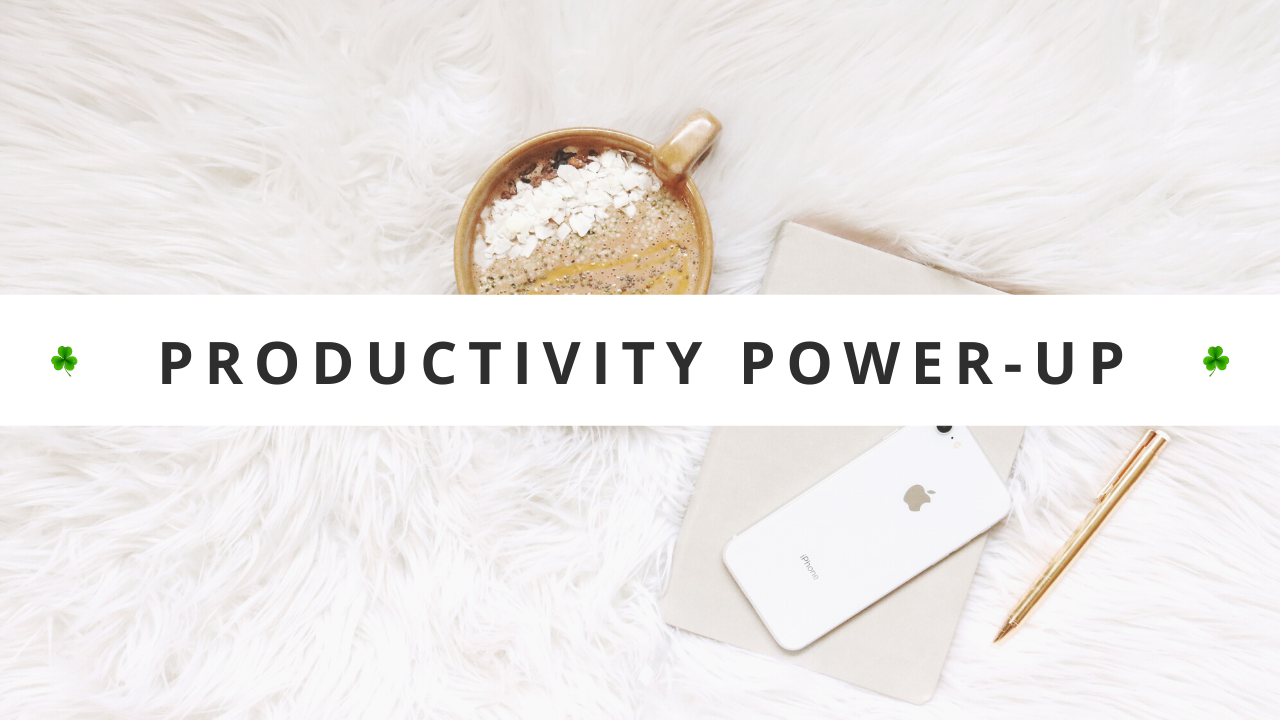 Productivity Power-Up: The Best Way To Find Time For Self Care Every Day • Productivity Course • Productivity Tips • Productivity Tools